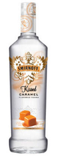 Smirnoff Vodka Kissed Caramel 1.75l